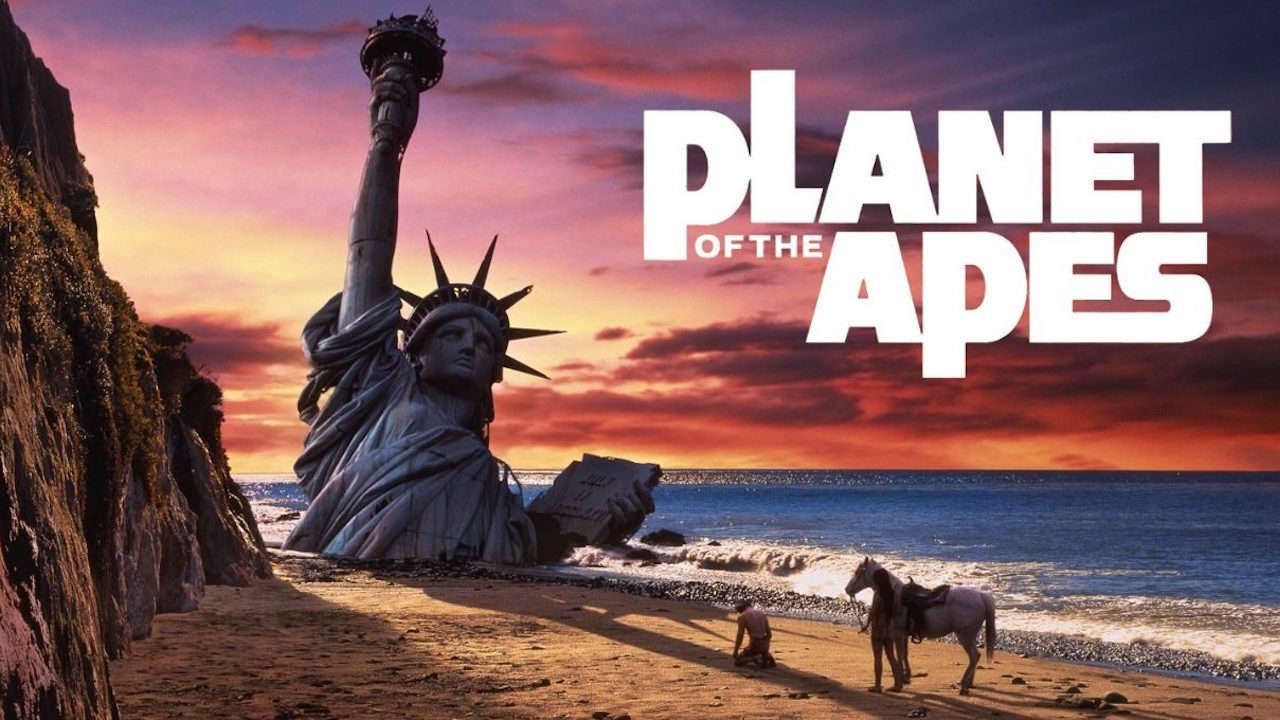 Planet of the Apes - 1968 - English